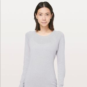 Lululemon light grey sweater